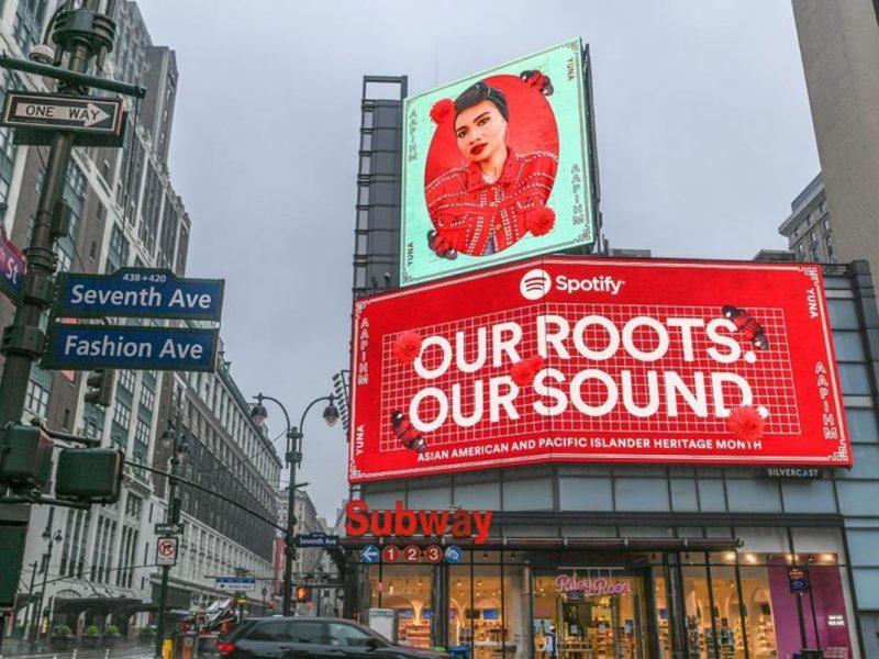 Yuna Sekali Lagi Menghiasi 'Billboard' Di Kota New York