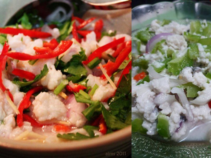 Resepi Hinava, Sashimi Versi Kadazan Dusun