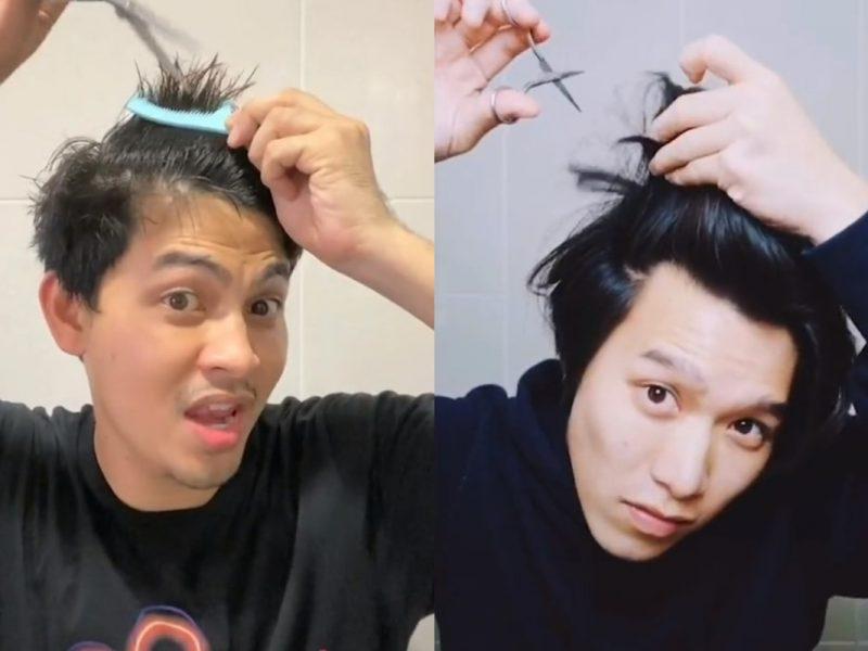 Barber Masih Tutup? Urus Rambut Dengan Style, Ikut Cabaran #HairsomeMan