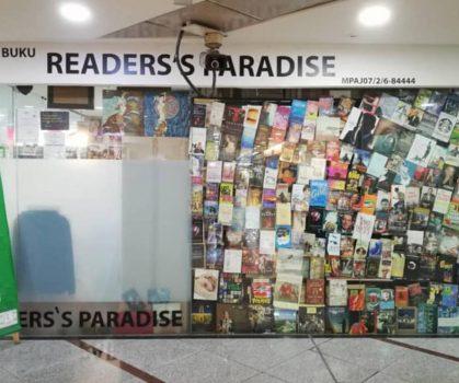 Kedai Buku Readers Paradise_Front