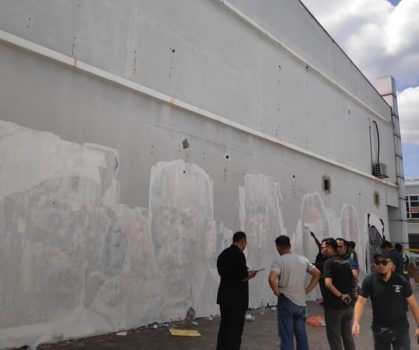 Akibat Vandalisme, Lukisan Mural Karya Suhaimi Ali Terpaksa Dipadamkan