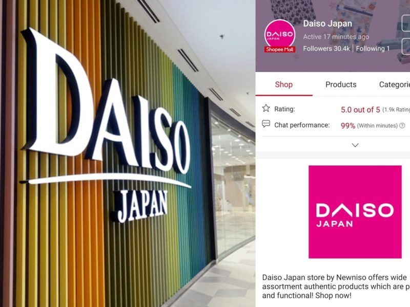 Bersedia Untuk Shopping, Daiso Dah Ada Online Store
