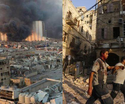 Letupan Besar Di Beirut, Presiden Lubnan Isytihar Darurat Dua Minggu