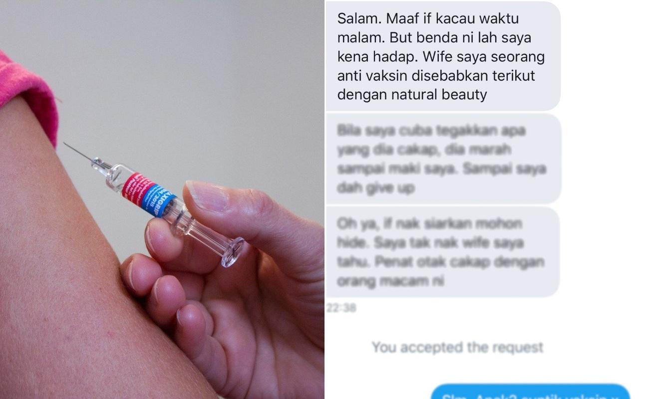 Ada Yang Sampai Tak Mahu Beri Suntikan Vaksin Kepada Anaknya