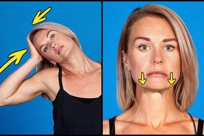 7 Senaman Untuk Mendapatkan Wajah Yang Lebih Slim Di Rumah